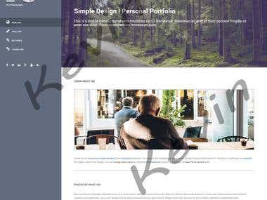 Responsive Web site