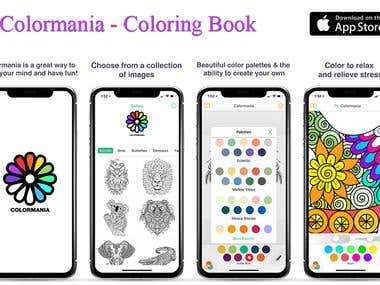 Colormania App