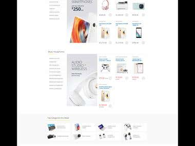 Get Smart Store E-Commerce Website