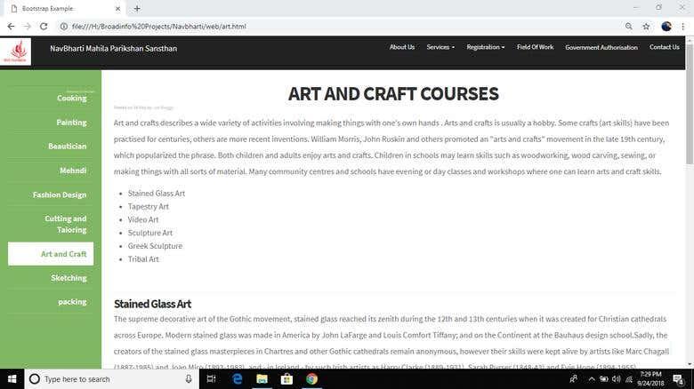 New Website Created by myself | Freelancer