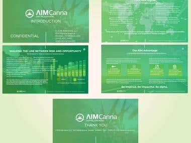AIM CANNA PowerPoint