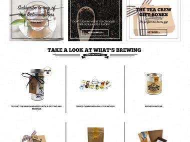 OpenCart - The Tea Crew