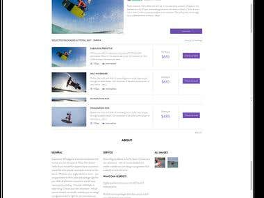 Web Content for Adventure Tourism Company