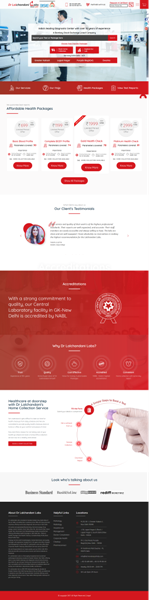 Keywords Ranking & Google Display Advertising for Pathlab