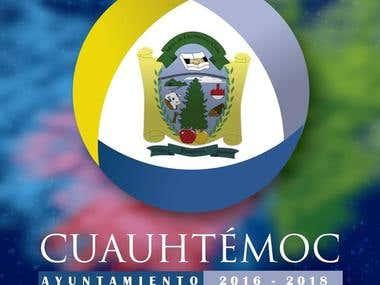 Logo (Imagotipo) del Municipio de Cuauhtémoc