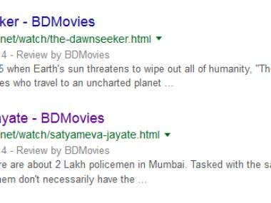Rich Snippets for BDMovies