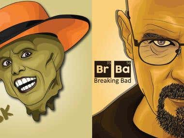 THE MASK & BR BA