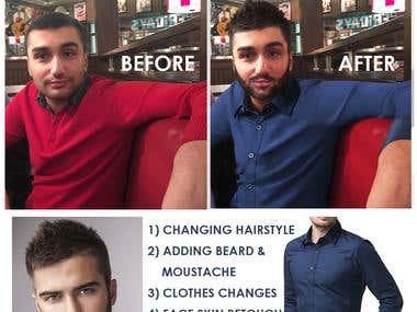 Photoshop Image editing