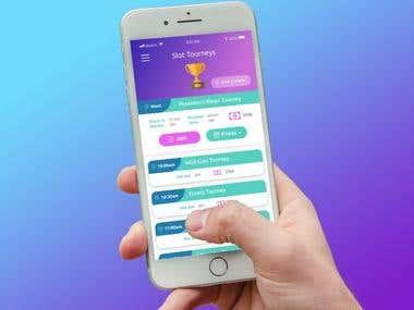 Slots App Mobile Design