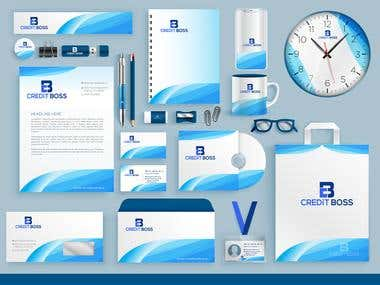 Business Card, Letterhead and Stationary