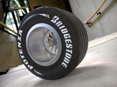 3d modeling tyres
