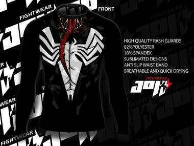 rash guard design