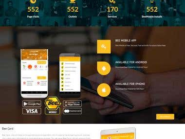 Bee Smart payment solution Customer website