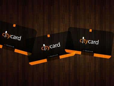 Citycard Logo and Business Card Design