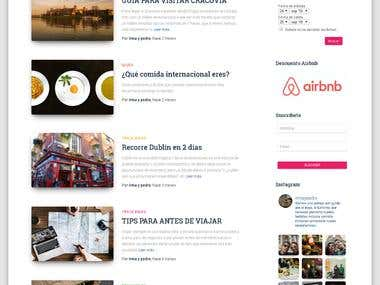 Blogs, eStores and all kind of wordpress pages