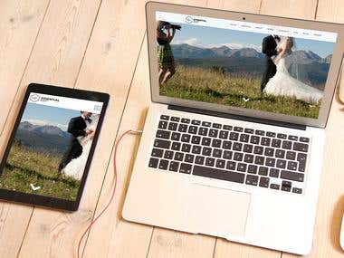Photography & Video Editing Website