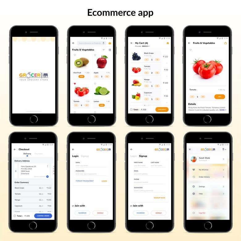 Online Product selling apps with backed | Freelancer