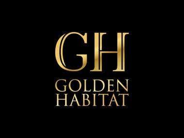 Gold foil Printing logos