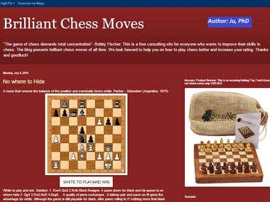 Original Chess Article Writing