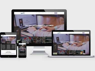 Space Jet Website