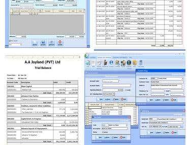 Accounts Management System