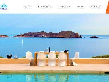 Villa Rental Website