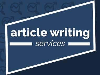 Article Writting