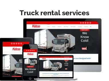 Car and Truck Booking site