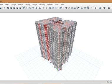 High rise building project