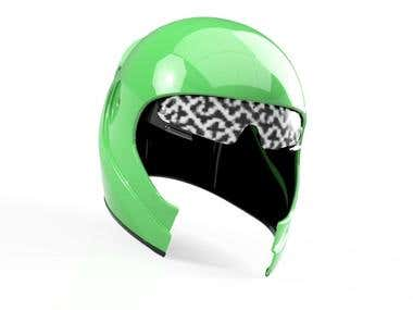 Enhanced Customized Helmet 3D Design