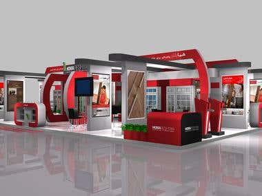 Homa Reshtan Exhibition Stall