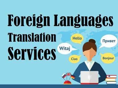 English to Tamil/Telugu Translation Services