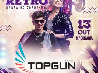 Banner • Social Media • Top Gun