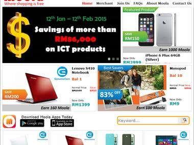 Moola (where shopping is free) - Online free shopping