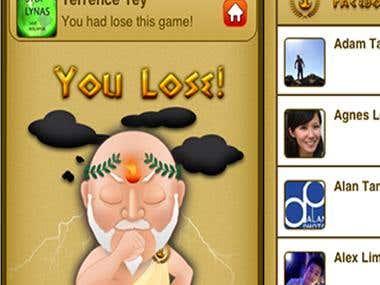 Madmathz - Number matching game app between fb friends