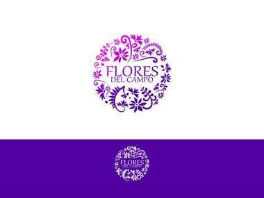 Flores del campo | Logo