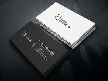 Action Consulting Business Card