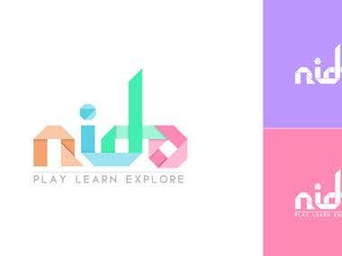 Nido Preschool - Logo Design