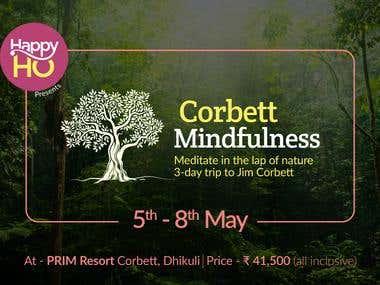 Banner Design - HappyHo Corbett Mindfulness