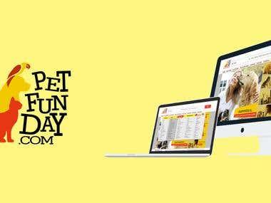 Pet Funday - Logo and Website design