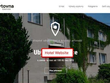 Hotel Informative Website