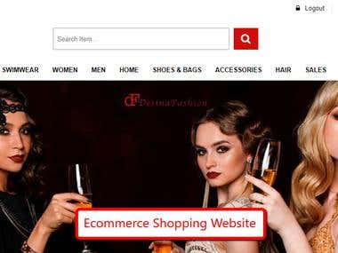 Ecommerce Clothing Website
