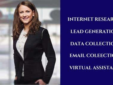 Internet Research and Leads for clients