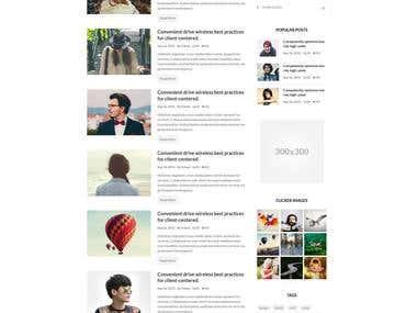 Demand - blog site