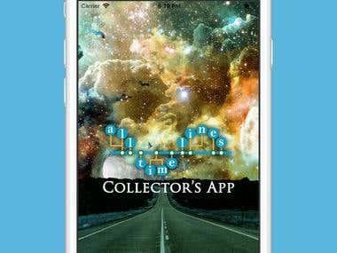 Alltimelines.com hybrid mobile app