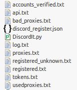 Discord Mass Accounts Creator | Freelancer