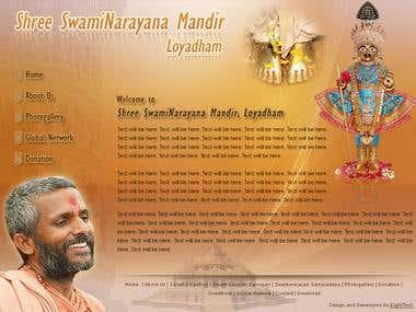 Shree Swaminarayana Mandir Site