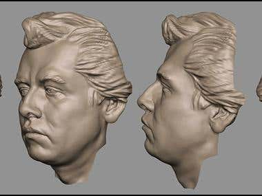 Face Model for 3d Printing