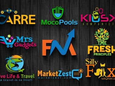 Design professional 2d and 3d logo for your company