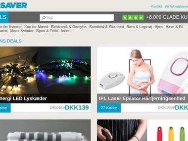 Bigsaver-Wordpress-Ecommerce website